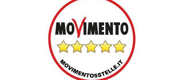 Logo Movimento 5 Stelle senza Grillo