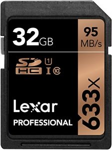 Lexar Professional SDHC Professional UHS-I 633x