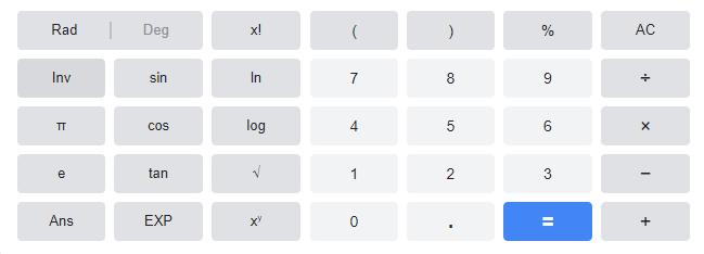 Calcolo logaritmo decimale