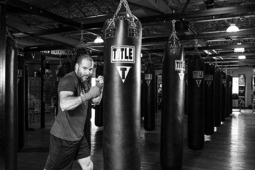 boxe allenamento